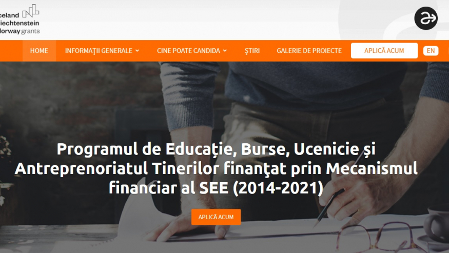Apel Proiecte de Cooperare ESAYEP 2021