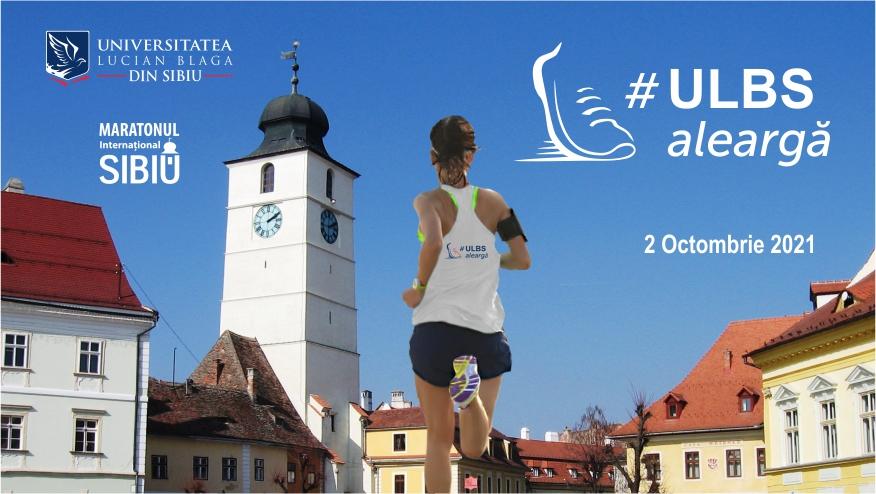 ULBS aleargă pentru viață! 52 de membri ai comunității academice aleargă la Maratonul Internațional Sibiu