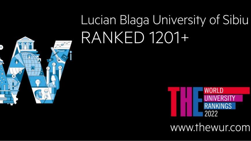 ULBS intră pe o poziție onorantă în clasamentul Times Higher Education