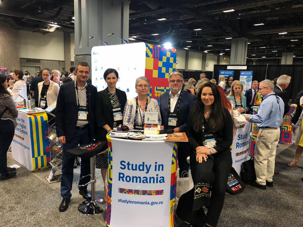ULBS la târgul educațional NAFSA 2019 – Washington