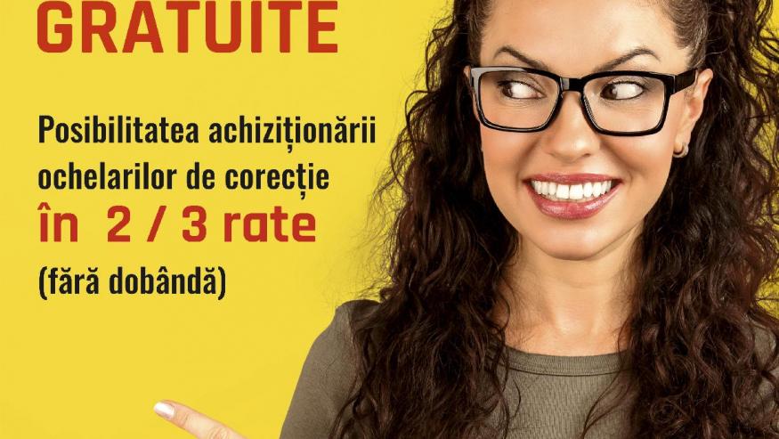 Consultații optometrice gratuite
