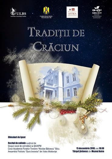 Invitație la Tradiții de Crăciun