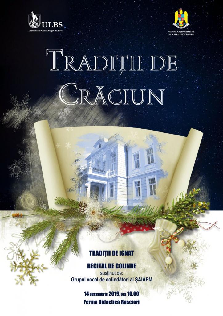 Tradiţii de Crăciun 2019
