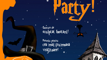 Halloween Party în căminele ULBS