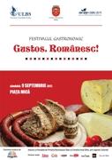 Gustos.Românesc! Festival gastronomic în Piața Mică