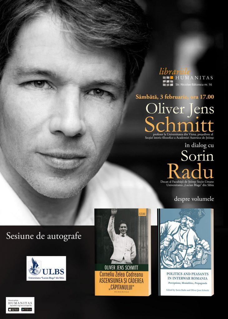 Oliver Jens Schmitt în vizită la Sibiu