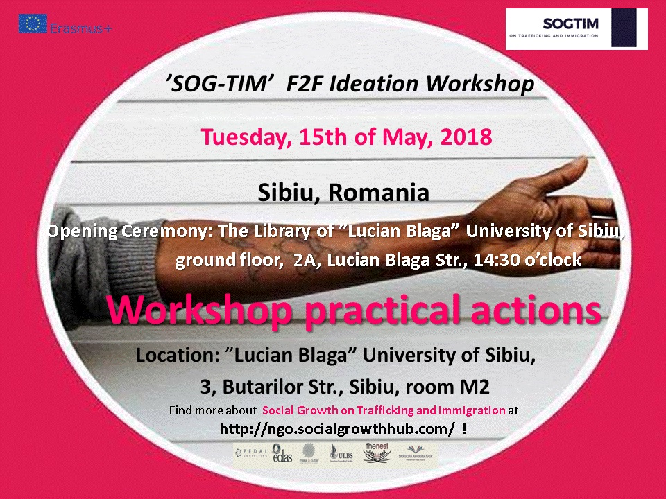 'SOG-TIM' F2F Ideation Workshop