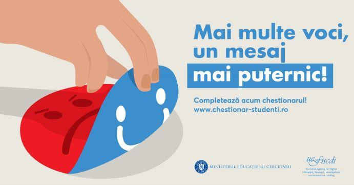Studiu privind condițiile de studiu şi de viață a studenţilor din România