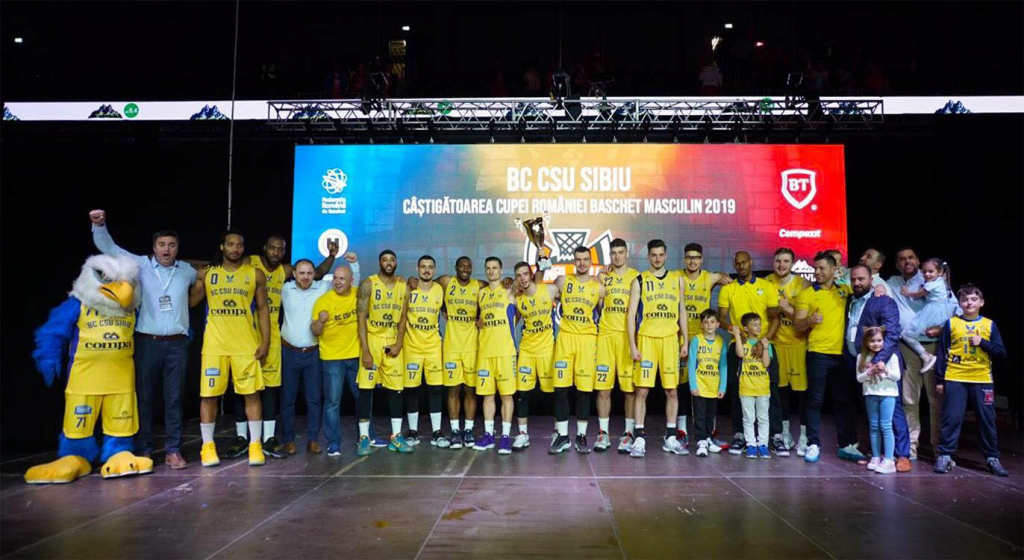 Trofeul Cupei României, pentru prima dată, la Sibiu