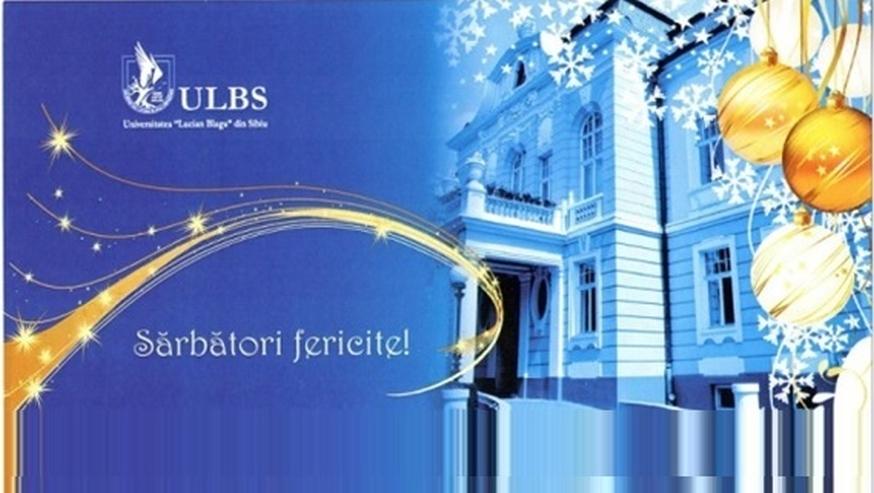Mesajul rectorului Ioan Bondrea, cu ocazia Crăciunului și Anului Nou