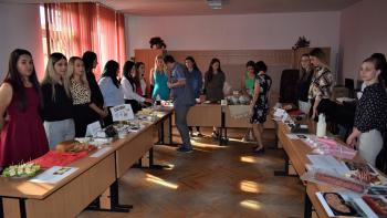 Lucrări de diplomă gastronomice realizate de studenții la ȘAIAPM