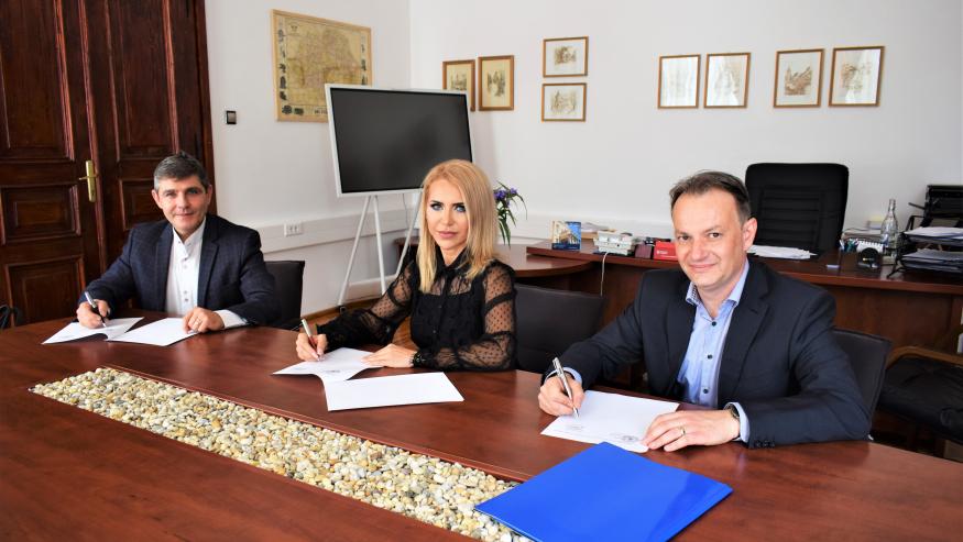Parteneriat de practică semnat de Facultatea de Științe Economice din cadrul ULBS, cu Ministerul Finanțelor