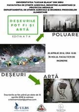 Deșeurile pot fi și artă