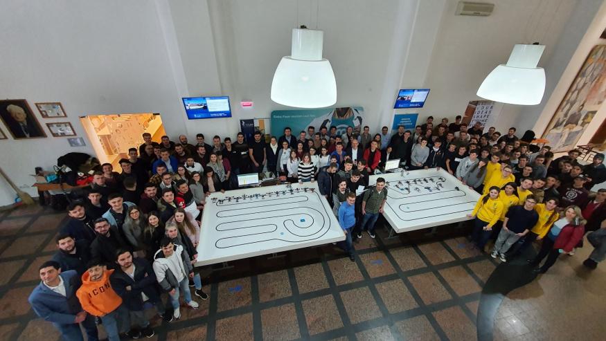 Concursul de robotică – powered by Marquardt – Rezultate Etapa I