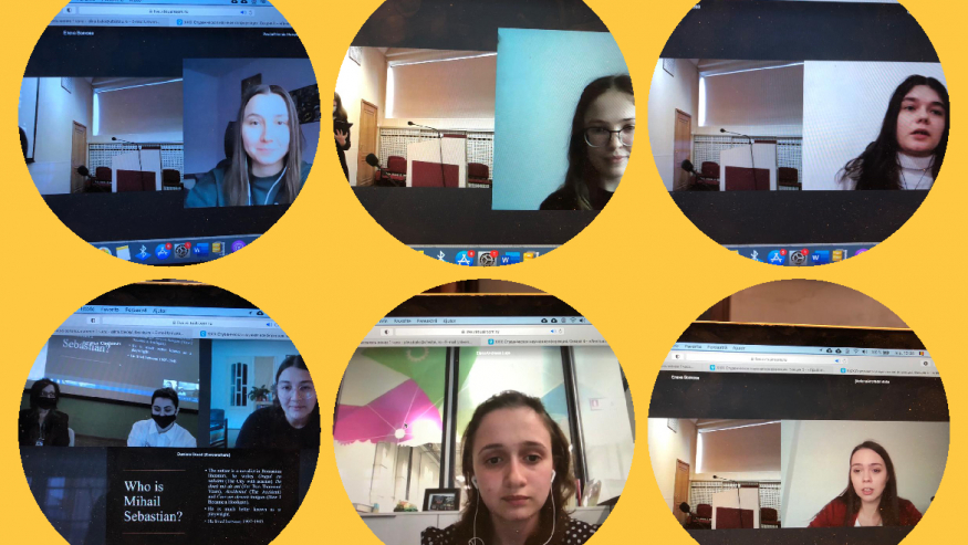 La Sankt Petersburg s-a vorbit despre literatura română. Zece studente de la Facultatea de Litere și Arte a ULBS au participat la conferința organizată de SPbUHSS