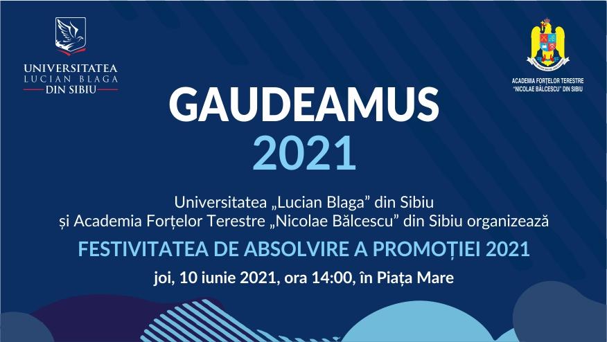 Gaudeamus 2021 – Studenții ULBS și AFT revin în Piața Mare