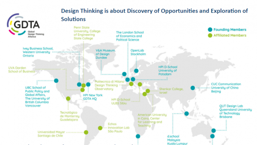 Global Design Thinking Alliance – discuții on-line #9