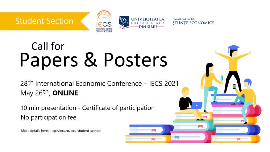 Conferința IECS 2021 – secțiunea pentru studenți