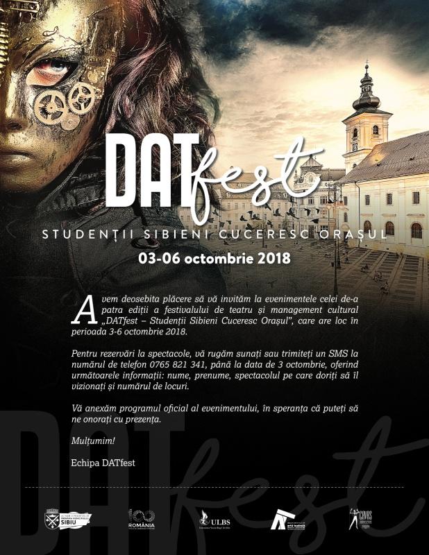 DATfest – a IV-a ediție a festivalului studențesc