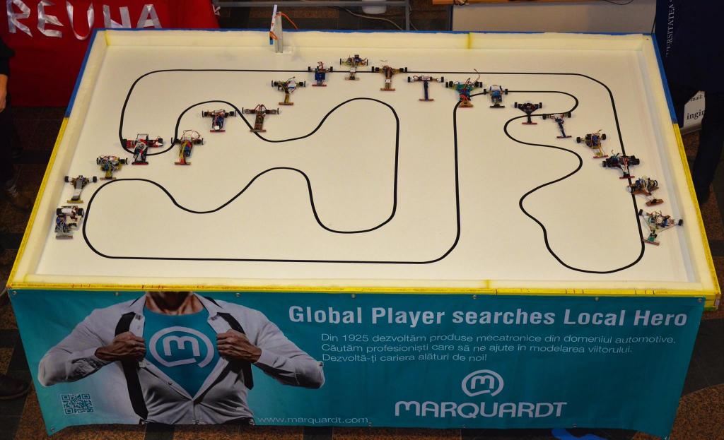 Concursul de roboți mobili – powered by Marquardt, etapa I