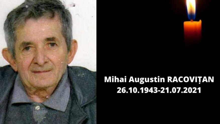 In memoriam Conf.univ.dr Mihai Augustin Racovițan (1943-2021)