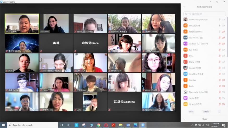 Chinese – Romanian Language Conversation Partner Programme