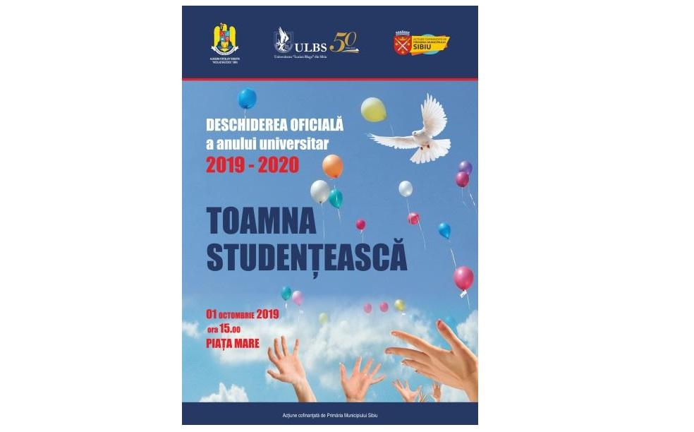 Toamna Studențească deschide seria de evenimente dedicate ULBS 50