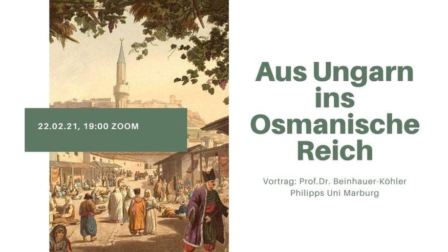 "Prelegere publică ""Din Ungaria în Imperiul Otoman"" Prof.Dr. Beinhauer Köhler (Uni Marburg)"