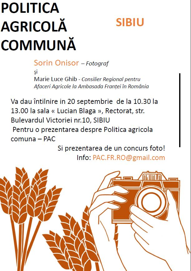Prezentare Politica agricola comună