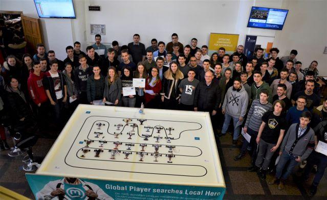 Rezultatele Concursului de robotică – powered by Marquardt