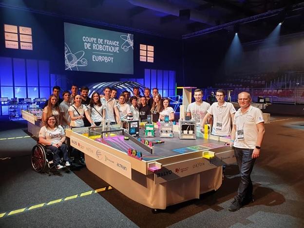 ULBS, locul 5 la Campionatul European de Robotică EUROBOT 2019