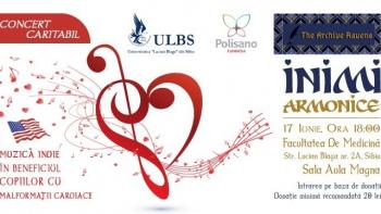 Concert caritabil Inimi Armonice  – 17 iunie 2019, ora 18:00