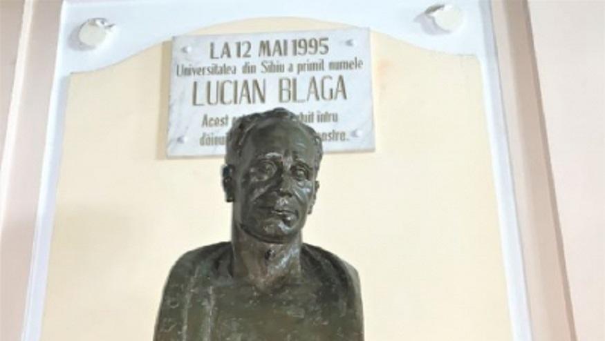 O conexiune care merită reamintită de Ziua ULBS:  Lucian Blaga – ULBS – Europa
