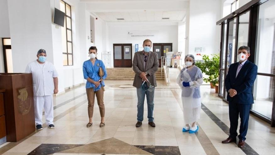 Monitoare performante donate Spitalului Județean în urma unui parteneriat Altex România – ULBS
