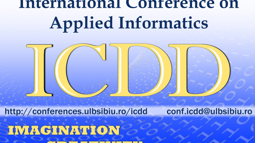 International Conference on Applied Informatics – ICDD 2020