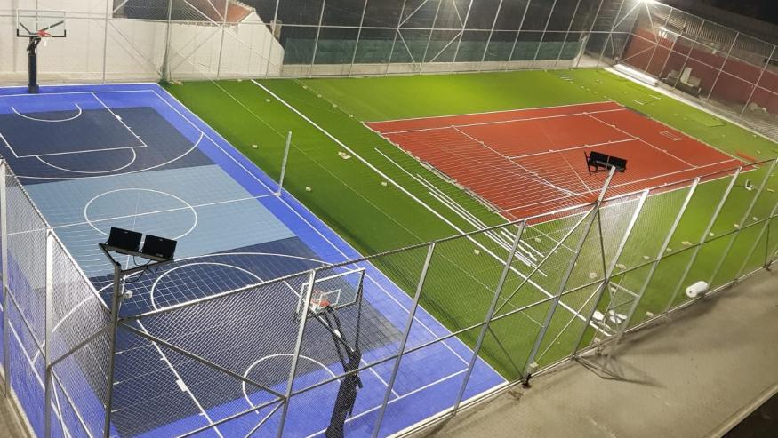 ULBS a investit 1,12 milioane lei pentru terenuri multifuncționale de sport