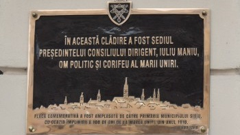 Dezvelirea placă memorială sediul Președintelui Consiliului Dirigent