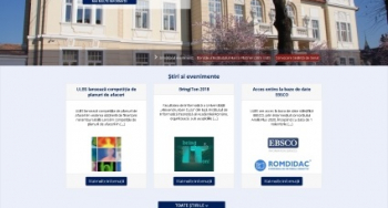 Noul website al ULBS