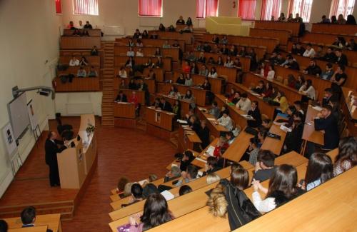 Bogdan Aurescu at the Faculty of Law