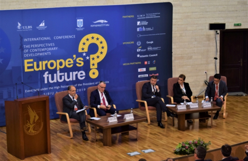 The perspectives of contemporary developments - Europe's future