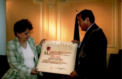 Dorli Blaga Honorary senator