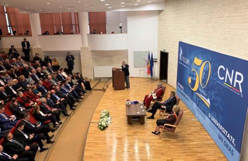Ședința omagială ULBS 50